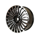 Load image into Gallery viewer, Range Rover Mansory Wheels Black Machined Face