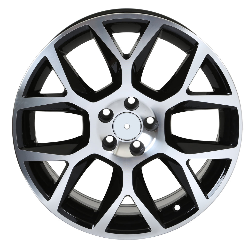 Volkswagen GTI Laguna Wheels Black Machined Face