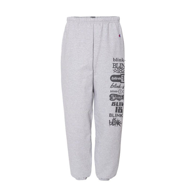 LOGO LIST GREY SWEATS