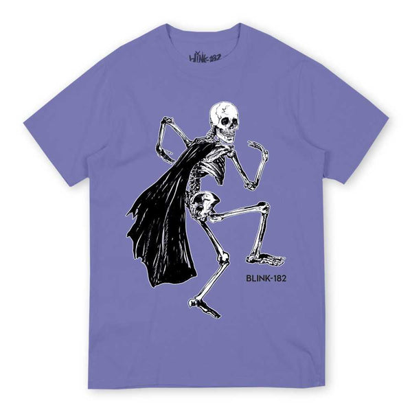 Skeleton Cape Violet Tee