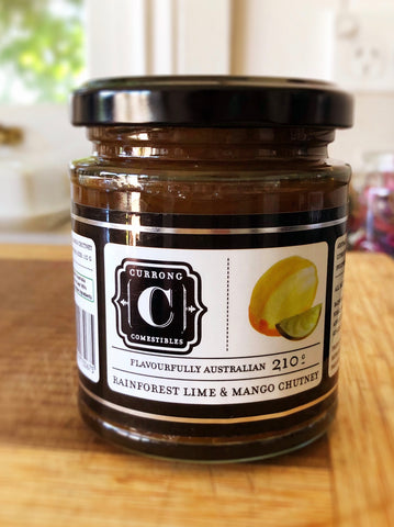 210g CC Rainforest Lime & Mango Chutney
