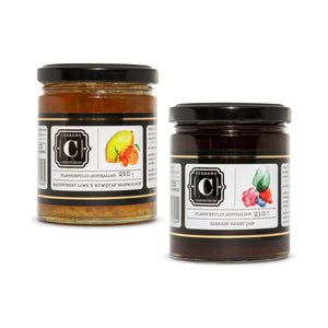 Rainforest Lime & Kumquat Marmalade + Riberry Berry Jam Duo