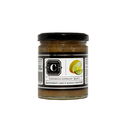 Rainforest Lime & Mango Chutney