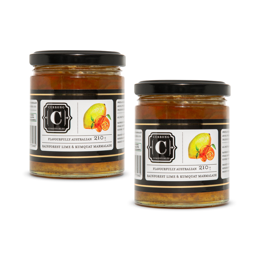 Rainforest Lime & Kumquat Marmalade Duo