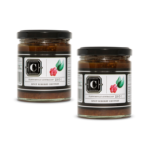 Spicy Riberry Chutney Duo
