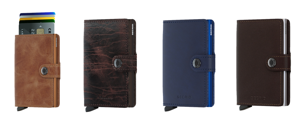 Secrid leather Wallets