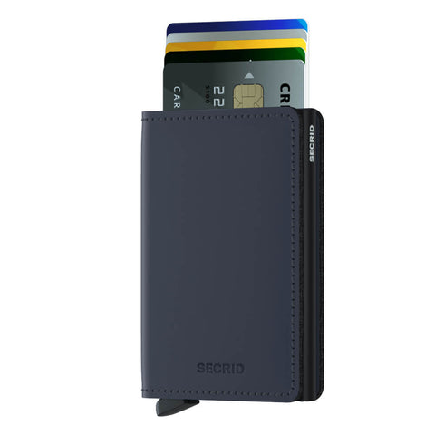 Secrid Slimwallet Matte Night Blue