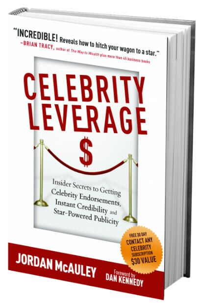 Celebrity Leverage by Jordan McAuley 3D Cover