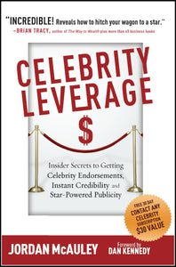 Celebrity Leverage by Jordan McAuley Front Cover