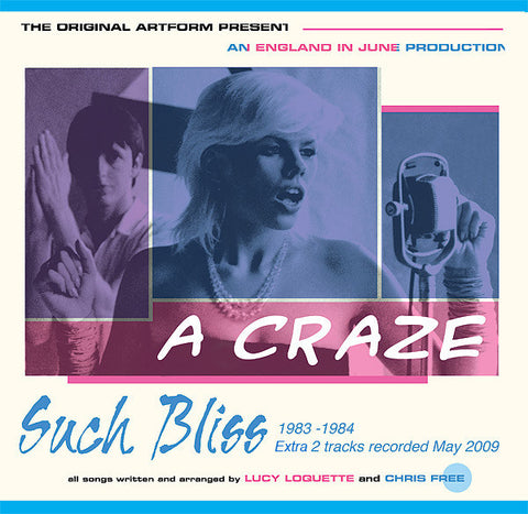 A Craze Such Bliss 1983-84 CD