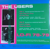 "The Users - Lo-Fi  7"" Vinyl EP - CXLondon.Com"