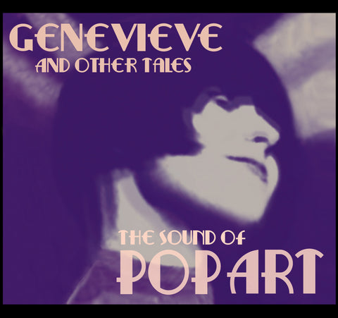 "Genevieve & Other Tales 7"" Vinyl EP  The Sound Of Pop Art"