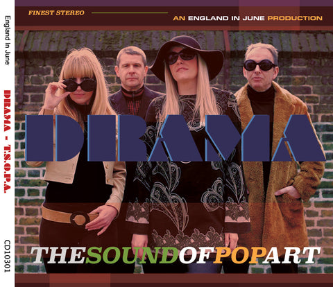 The Sound Of Pop Art - Drama - Vol.3  England In June Productions - CXLondon.Com