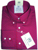 Floral Red Shirts Mens Relco Platinum