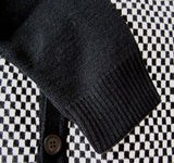 Cardigan Two Tone Ska Checkerboard Relco