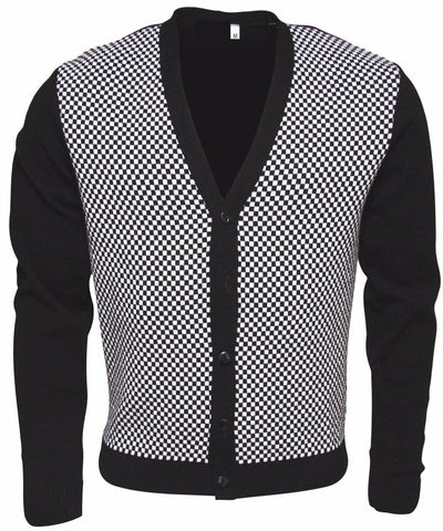 Cardigan  Two Tone Ska Cardigan - Relco