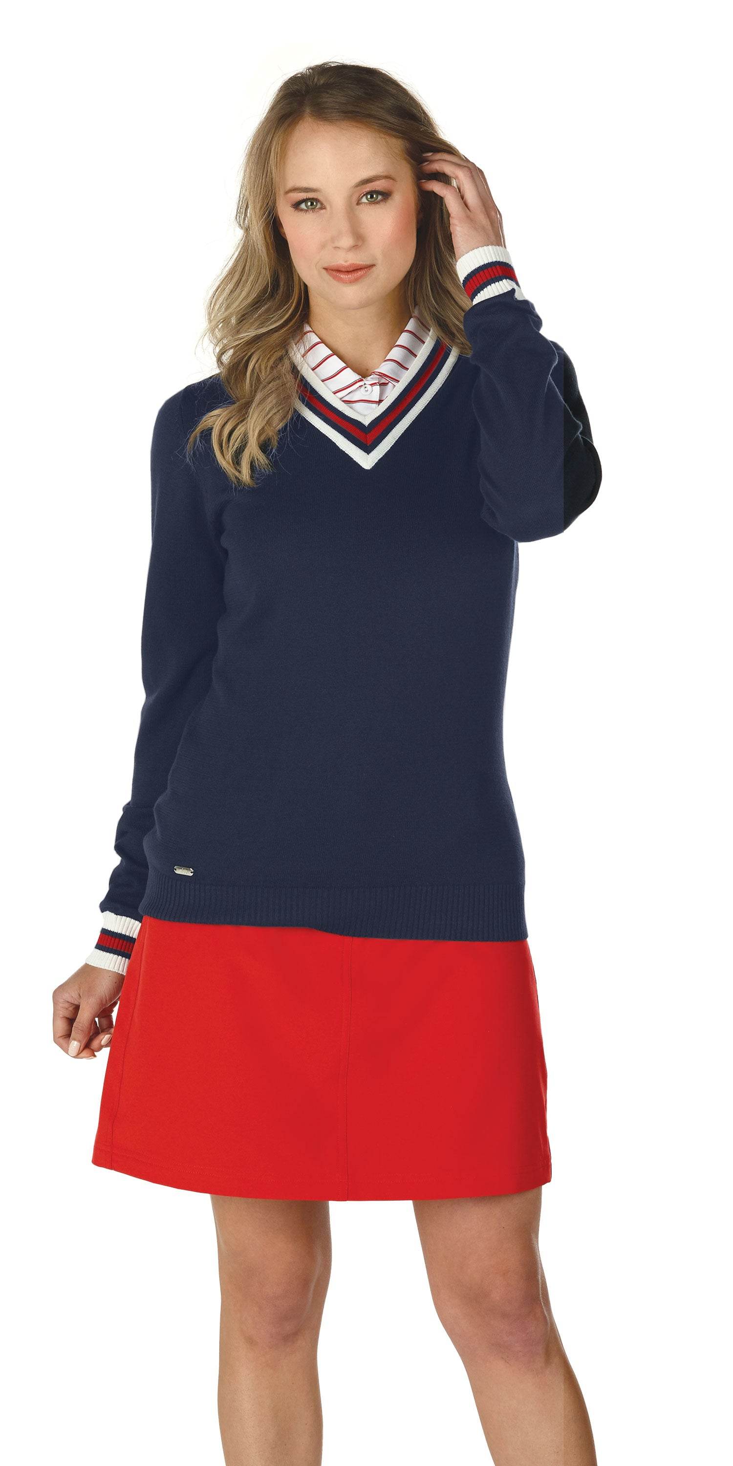 AMERICANA - ALBA POLO - ANGEL SWEATER - MARIKA SKORT