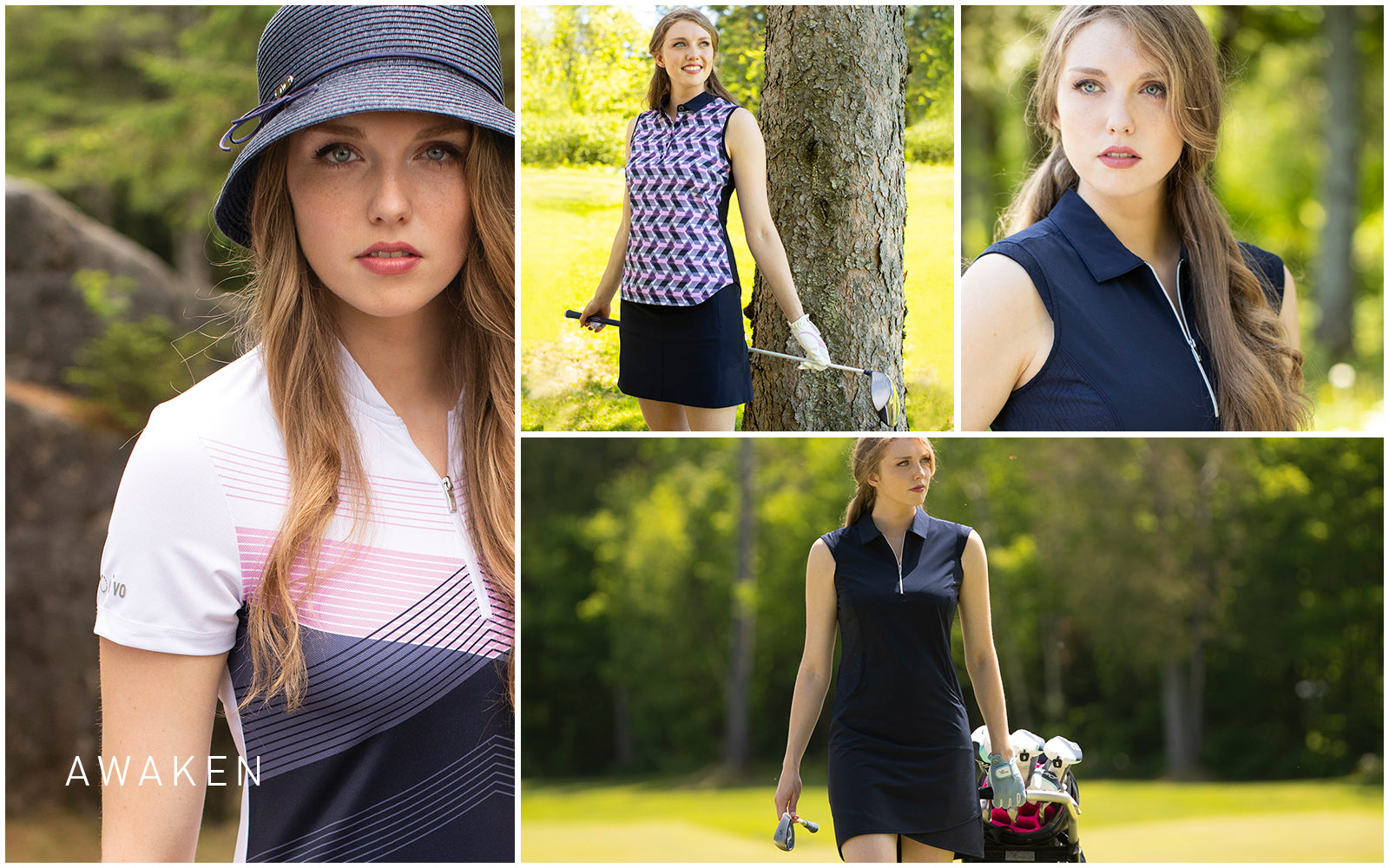 ALICIA MOCK GOLF 400 NAVY S AWAKEN AWAKEN,ALICIA MOCK,TOPS,SHORT SLEEVE,MOCK,400 NAVY,S AYANO POLO GOLF 400 NAVY AWAKEN AWAKEN,AYANO POLO,TOPS,SLEEVELESS,POLO,400 NAVY,ARIEL DRESS GOLF 400 NAVY S