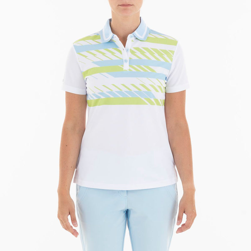 GABI POLO GOLF  100 WHITE XL GELATO