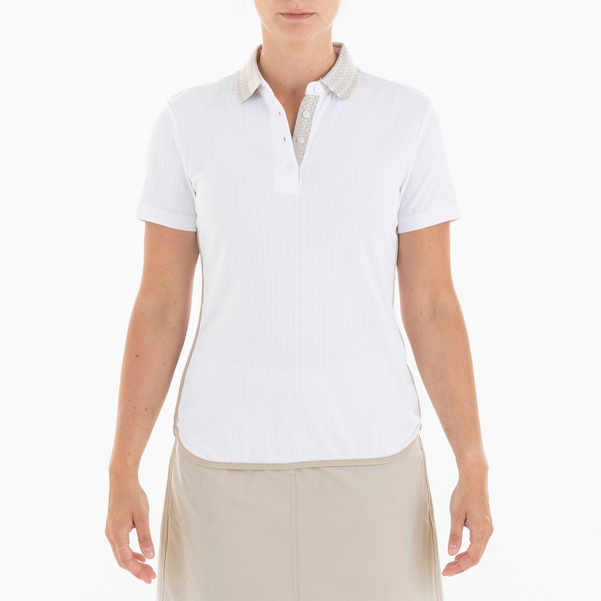 BIRDY POLO GOLF 100 WHITE XXL BREEZE