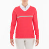 BILLIE SWEATER GOLF 633 GERANIUM XS BREEZE