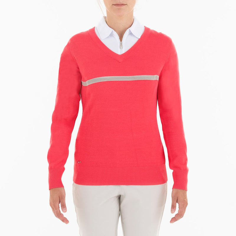 BILLIE SWEATER GOLF  633 GERANIUM XL BREEZE