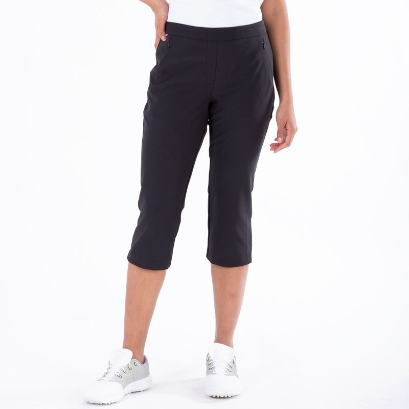 NINETTE CAPRI GOLF  001 BLACK 18 ESSENTIALS