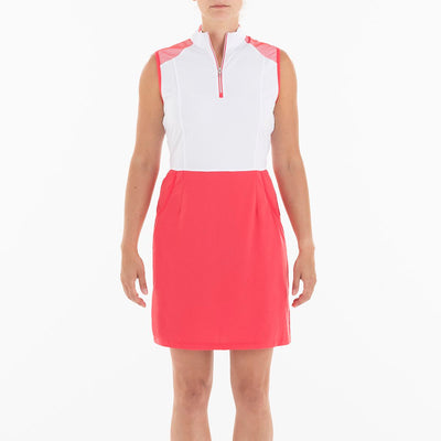 BRANDI DRESS GOLF 633 GERANIUM XS BREEZE