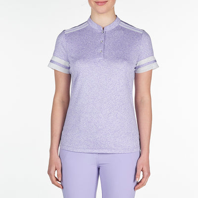 CHELSEA MOCK GOLF  542 FROSTED LAVENDER XXL CELEBRATE CELEBRATE, CHELSEA MOCK, TOPS, SHORT SLEEVE, MOCK, 542 FROSTED LAVENDER, XXL