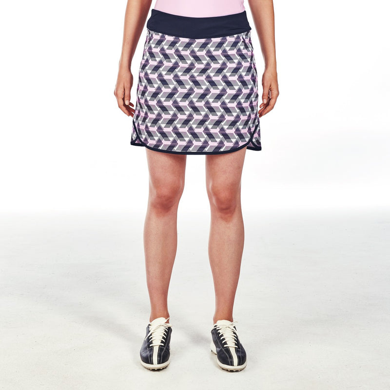 AVA SKORT GOLF 400 NAVY AWAKEN