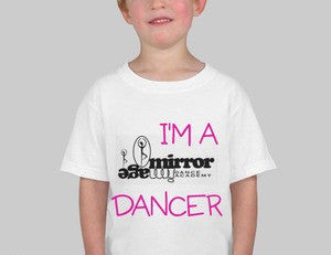 Mirror Image Dance Academy Toddler Cotton T-Shirt