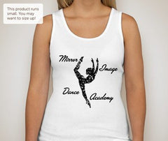 Mirror Image Dance Academy Girly Tank
