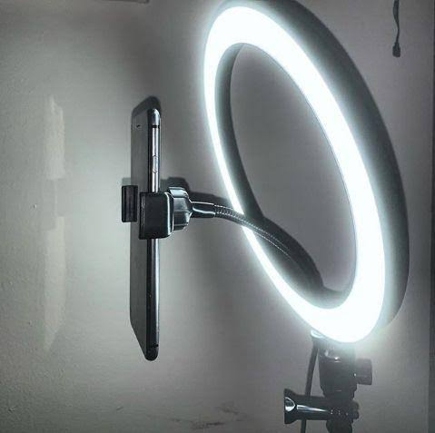 SUPER RING LIGHT LED COM TRIPÉ