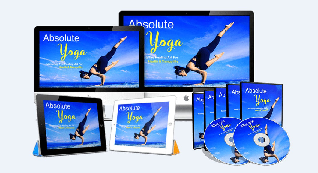 Absolute Yoga - The Key to a Healthier, Happier & Fulfilled Life - SelfhelpFitness