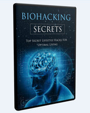 Load image into Gallery viewer, Biohacking Secrets - Top Lifestyle Hacks for Optimal Living - SelfhelpFitness