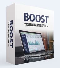Load image into Gallery viewer, Boost Your Online Sales - Increase Online Sales For Your Product or Services - SelfhelpFitness