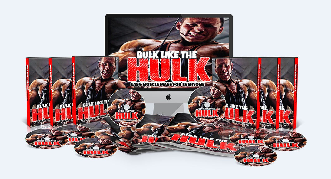 Bulk Like the Hulk - Build Muscle And Get Bulked Up Like The Hulk - SelfhelpFitness