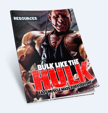 Load image into Gallery viewer, Bulk Like the Hulk - Build Muscle And Get Bulked Up Like The Hulk - SelfhelpFitness