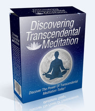 Load image into Gallery viewer, Discovering Transcendental Meditation - The Power Of Transcendental Meditation Today! - SelfhelpFitness