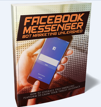 Load image into Gallery viewer, Facebook Messenger Bot Marketing Unleashed - Grow Your Target Audience! - SelfhelpFitness