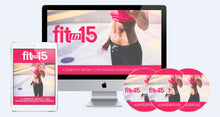 Load image into Gallery viewer, FIt in 15 For Women - Step-By-Step System For Women To Lose Weight Safely & Effectively! - SelfhelpFitness