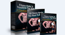 Load image into Gallery viewer, Fitness Hacks To Transform Your Body - SelfhelpFitness