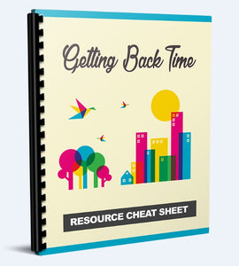 Getting Back Time - Time Management Design a More Productive Lifestyle - SelfhelpFitness