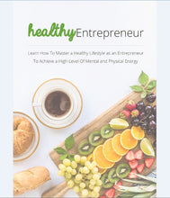 Load image into Gallery viewer, Healthy Entrepreneur - Mastering a Healthly Lifestyle as an Entrepreneur - SelfhelpFitness