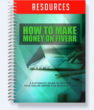 Load image into Gallery viewer, How to Make Money on Fiverr - Building Your Online Empire Five Bucks At A Time - SelfhelpFitness