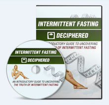 Load image into Gallery viewer, Intermittent Fasting Deciphered - Uncovering The Truth Of Intermittent Fasting - SelfhelpFitness
