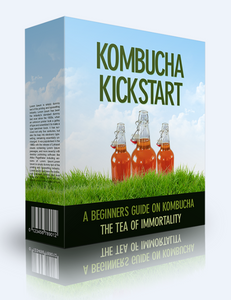 Kombucha Kickstart - A Beginners Guide On Kombucha - The Tea Of Imortality - SelfhelpFitness