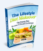 Load image into Gallery viewer, LifeStyle Diet Makeover - Lose Weight 15 Pounds In 30 Days - SelfhelpFitness