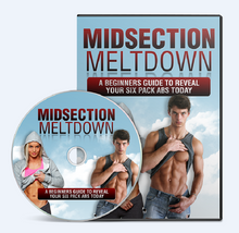 Load image into Gallery viewer, Midsection Meltdown - Reveal Your Six Pack Abs Today - SelfhelpFitness