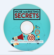 Load image into Gallery viewer, Niche Marketing Secrets - Build a Winning Money Making System - SelfhelpFitness